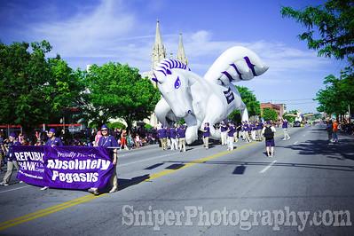 Kentucky Derby Festival Pegasus Parade 2010-3