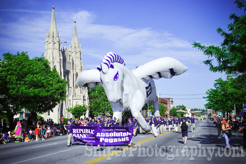 Kentucky Derby Festival Pegasus Parade 2010-2
