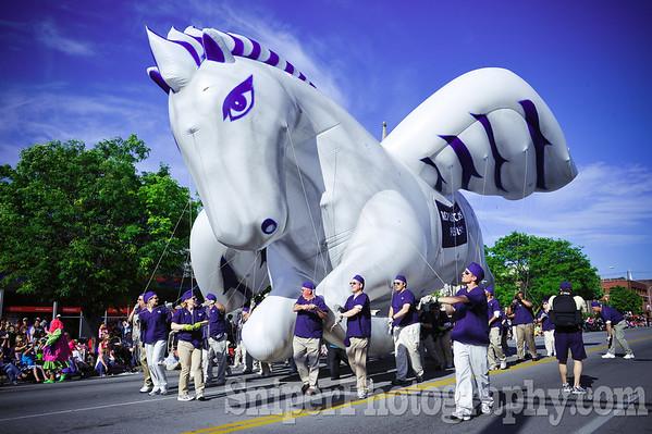 Kentucky Derby Festival Pegasus Parade 2010-4