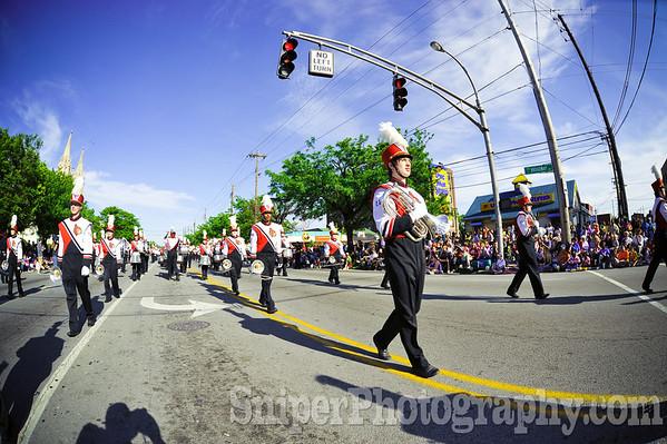 Kentucky Derby Festival Pegasus Parade 2010-11