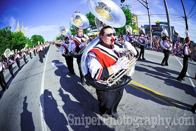 Kentucky Derby Festival Pegasus Parade 2010-16