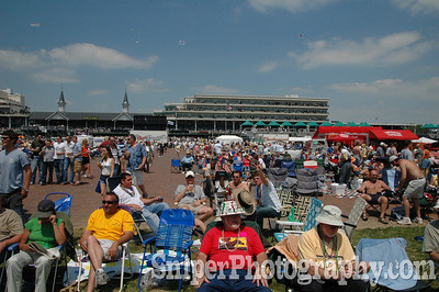 The Kentucky Derby Infield - Churchill Downs 2005