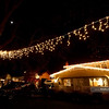 Christmas lights at the Fab 40s in Sacramento