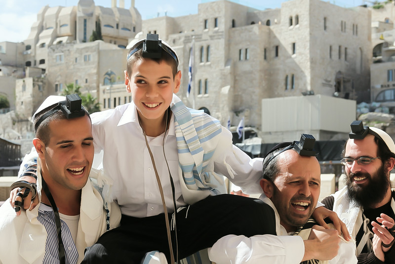 bar mitzvah at kotel uplifting