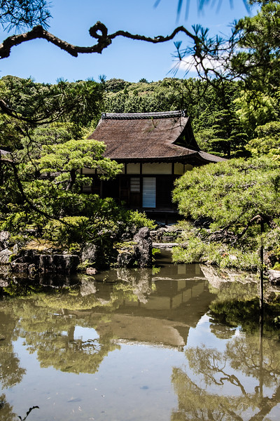 Ginkakuji, the silver pavilion that never was.