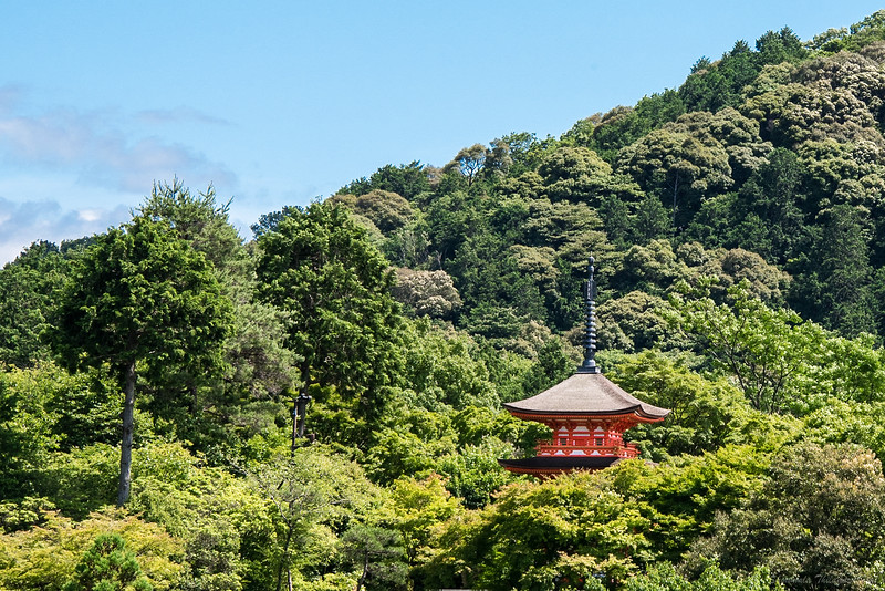 And then, the peace of Kiyomizu-dera.