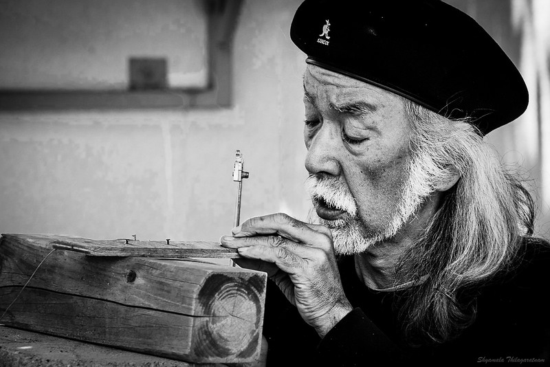 The craftsman. At Sakyō-ku.