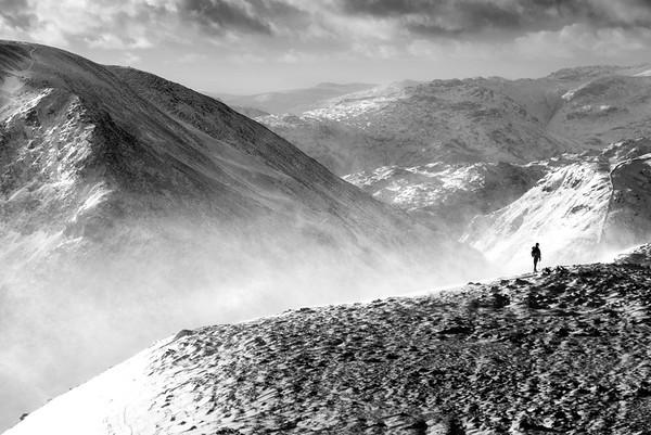 Winter on St Sunday Crag