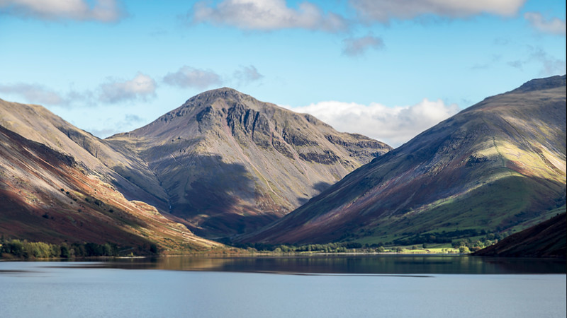 Great Gable Wastwater Cumbria
