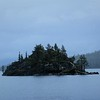 The island in the middle of Emerald Bay