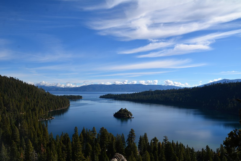 And here it is...The most photographed spot of Lake Tahoe. The Emerald Bay in all it's beauty!