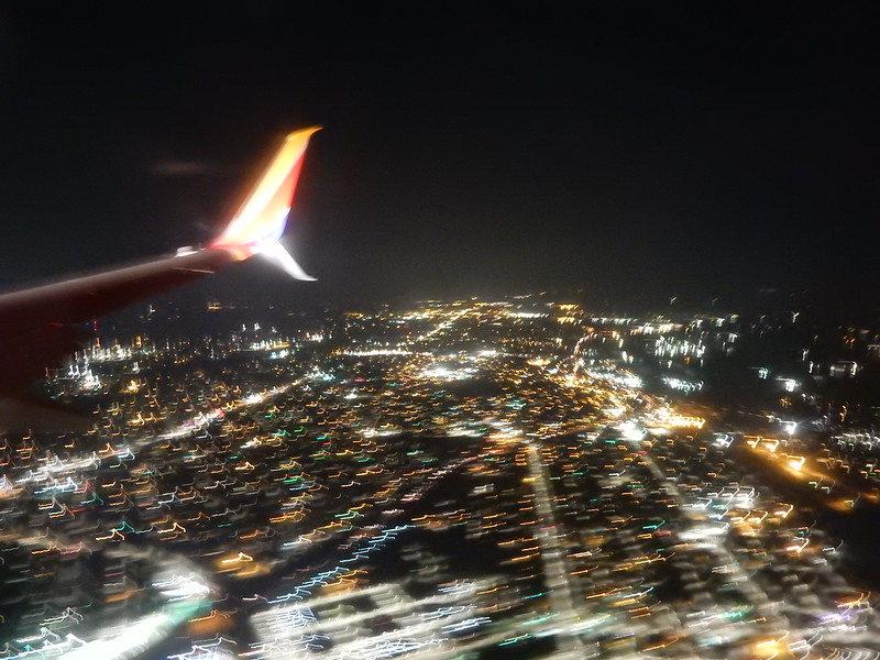On the final approach to Birmingham.