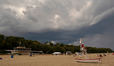 Storms approaching Bradford Beach August 19,2012