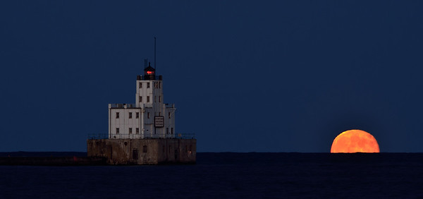 Milwaukee Super Moon July 2013