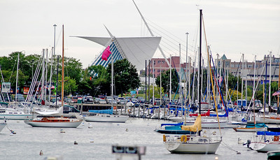 Milwaukee's lakefront was a busy place the weekend of August 12,2012.