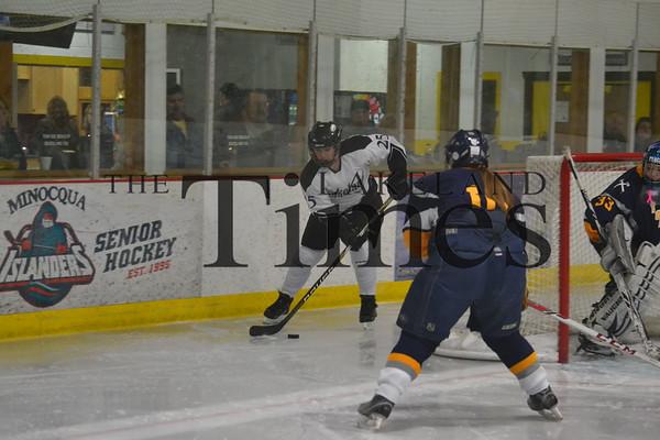 LUHS Girls' Hockey vs. Tomahawk 12-2-13