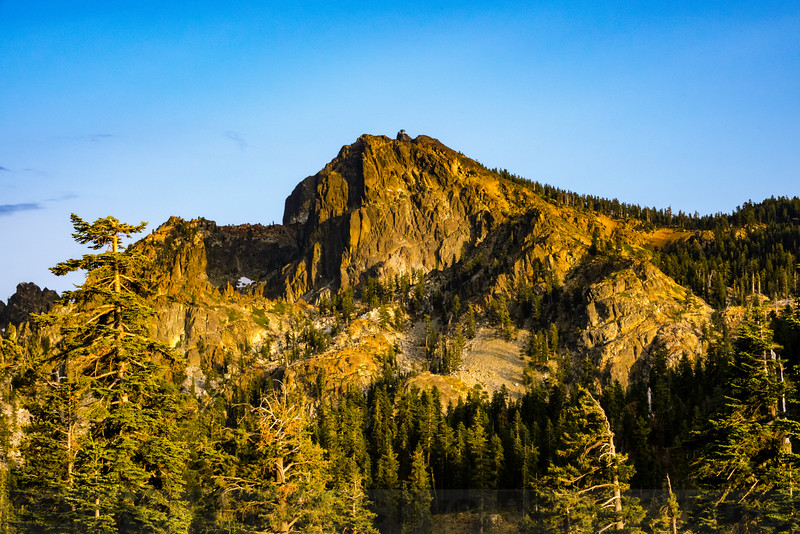Sierra Buttes, elevation 8,591 ft