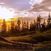 Twilight at Packer Saddle