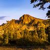 Evening Light on Sierra Buttes