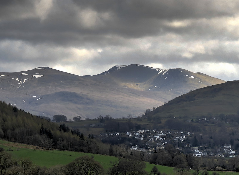 Helvellyn is in the centre