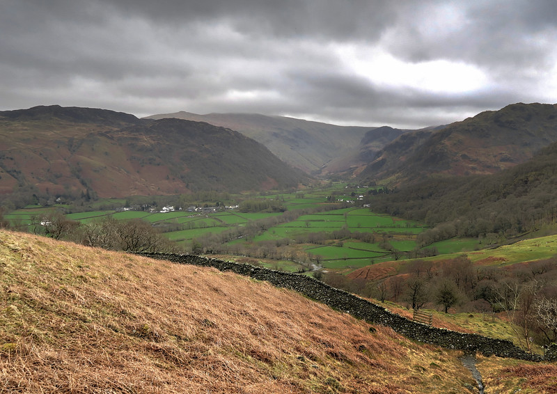 This apparently is the valley shown in one of the opening shots on the BBC Countryfile programme