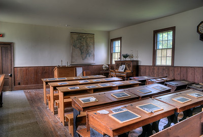 """Craigflower Schoolhouse - Victoria, BC, Canada Visit our blog """"Don't Be Late For Class"""" for the story behind the photo."""