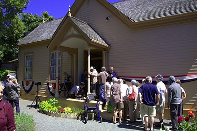 "Ross Bay Villa Grand Opening - Victoria, BC, Canada Visit our blog ""An Afternoon Garden Party"" for the story behind the photo."