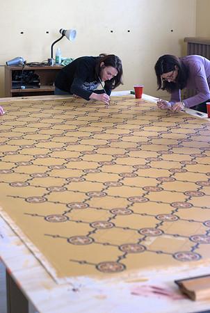 Ross Bay Villa Oilcloth Project - Victoria, BC, Canada