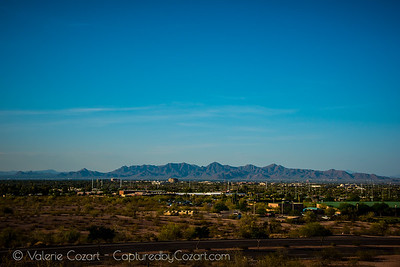 McDowell Mountain Range in Scottsdale, Arizona