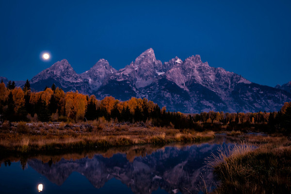 Early Autumn Morning, Tetons