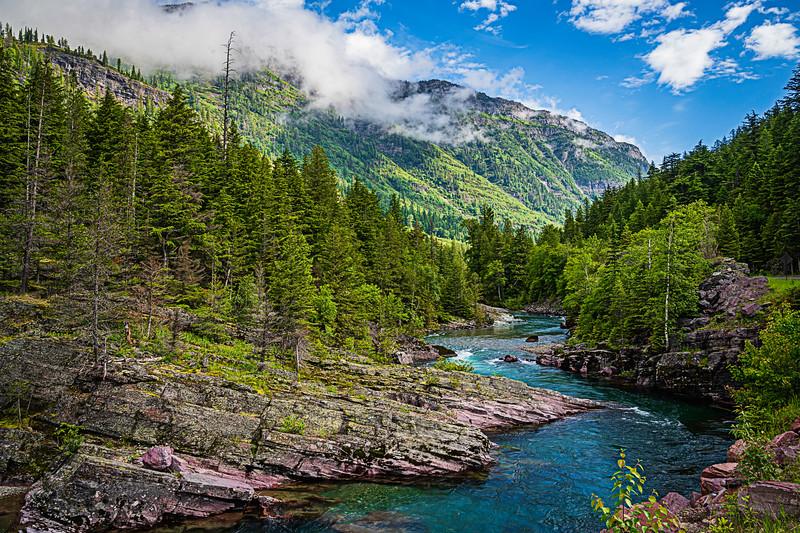 McDonald Creek, Glacier NP, Montana