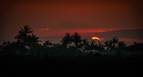 Hawaiian Big Island Sunset