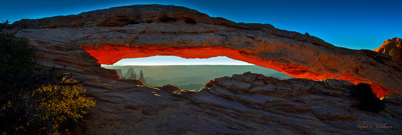 robwilbourn, Mesa Arch Panorama