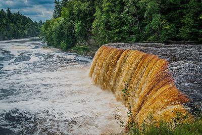 Upper Tahquamenon Falls, a.k.a. Root Beer Falls