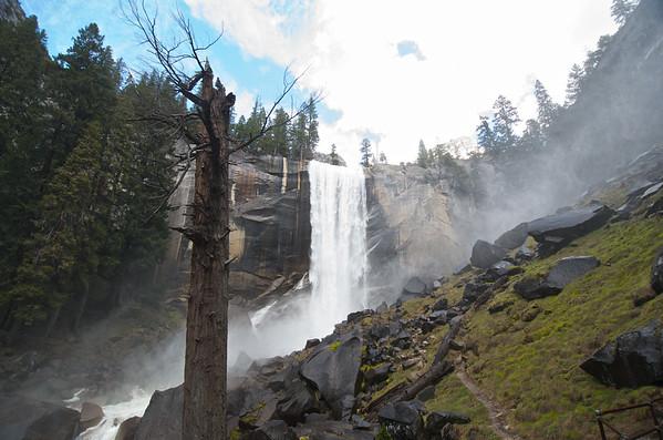 Misty Vernal Falls