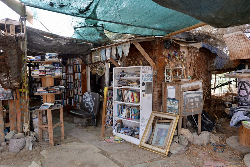 The Slab City library
