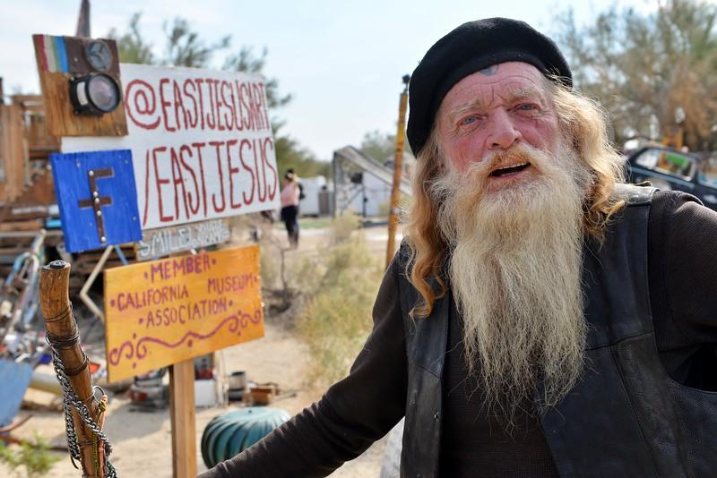 Mopar, the resident wizard of East Jesus