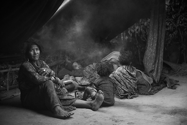 The Last Hunters and Gatherers of the Himalayas (B&W)