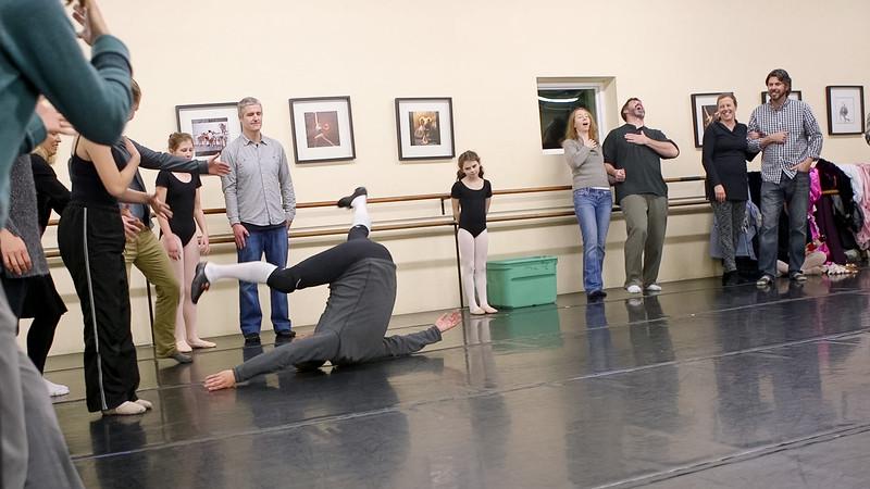 Dross Fall Reheaersal