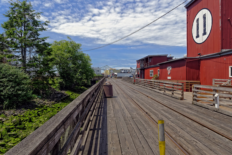 Astoria is the seat of Clatsop County, Oregon. Situated near the mouth of the Columbia River where it meets the Pacific Ocean, the city was named after the American investor John Jacob Astor. His American Fur Company founded Fort Astoria at the site in 1811