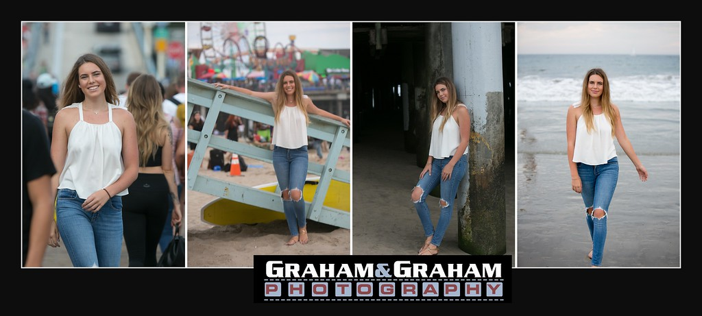 Senior Portraits by Manhattan Beach Photographer