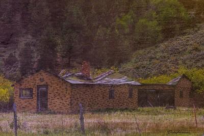 Decaying Homestead in Colorado