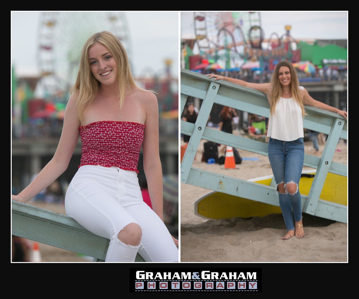 Los Angeles photographer - Santa Monica Senior Portraits