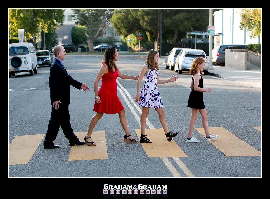 Bat Mitzvah day fun - Abbey Road