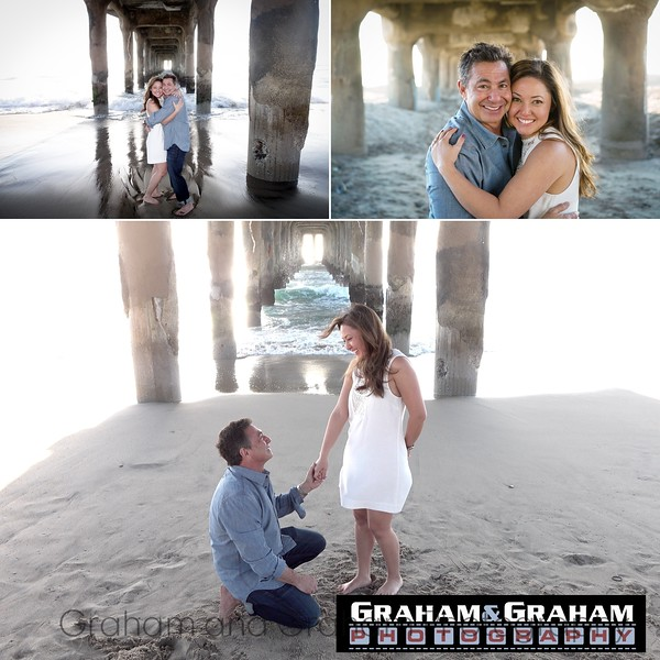 Manhattan Beach proposal photo