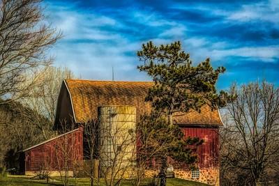 Old Barn in WS