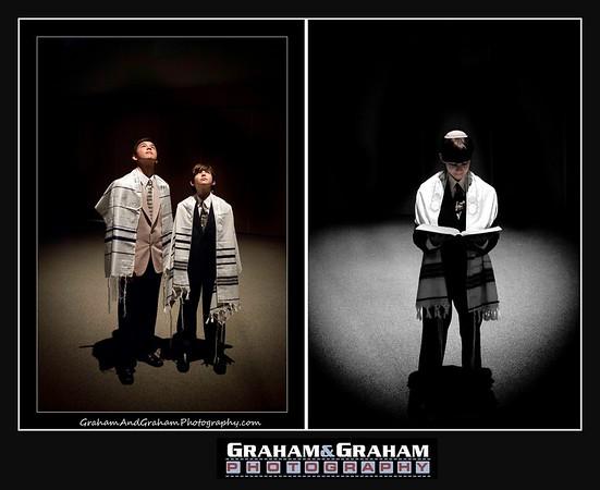 Bar Mitzvah Photographer - Brothers