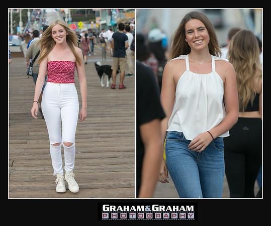 Santa Monica Pier photographer - senior portraits