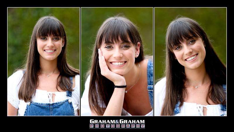 Malibu Senior Portraits - on location with Graham and Graham Photography