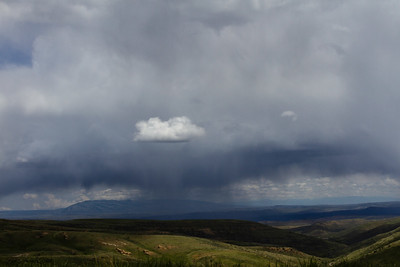Rain Coming near Red Lodge, Montana